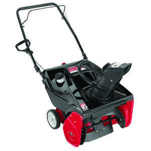 MTD  Yard Machine  21 in. W 123 cc Single Stage  Manual Start  Snow Blower