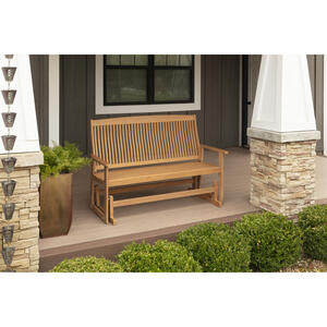 Jack Post  Bench  Wood  35.75 in. H x 25 in. L