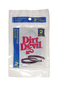 Dirt Devil  Vacuum Belt  For Fits all original Broom Vacs with M7 model number 2 pk