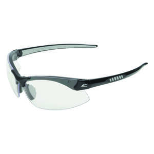 Edge Eyewear  Safety Glasses  Clear  Black  1