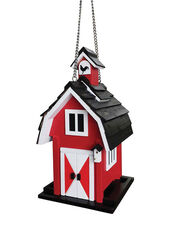 Home Bazaar  Songbird  1.5 lb. Wood  Bird Feeder  2 ports