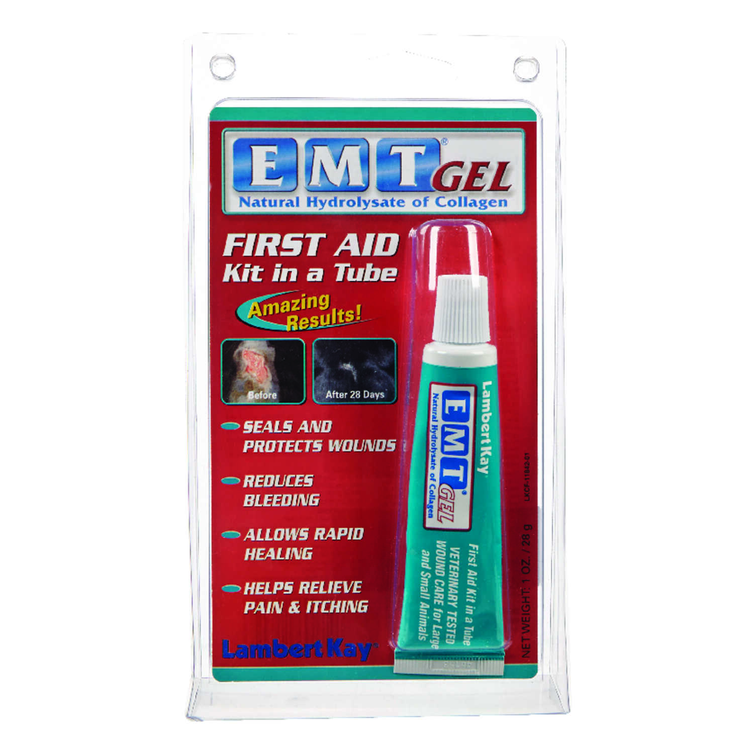 EMT  Gel  Wound Care  For Horse 1 oz.