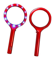Blazing LEDz Blazing LED Round 5 Times Magnifying Glass 3.5 in. W