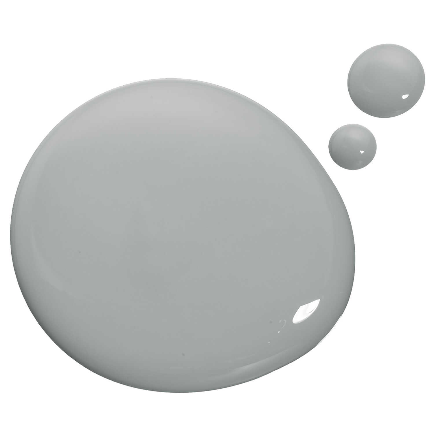 BEYOND PAINT  Matte  Soft Gray  Water-Based  Acrylic  All-In-One Paint  Indoor and Outdoor  1 qt.