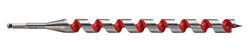 Milwaukee  1-1/8 in. Dia. x 18 in. L Ship Auger Bit  Hardened Steel  1 pc.