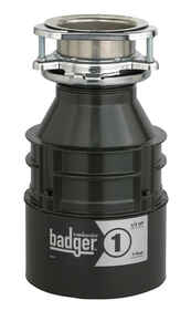 InSinkErator  Badger  1/3 hp Garbage Disposal