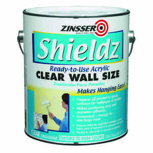 Zinsser  Shieldz Clear Wall Size  Clear  Primer  For Drywall 1 gal.