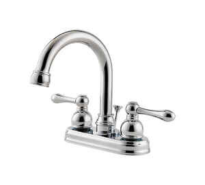 Pfister  Wayland  Polished Chrome  Two Handle  Lavatory Faucet  4 in.