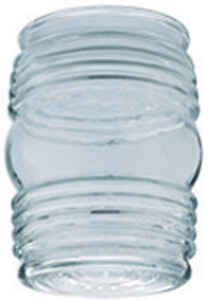 Westinghouse  Jelly Jar  Clear  Glass  Lamp Shade  6 pk