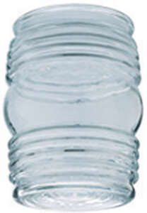 Westinghouse  Jelly Jar  Clear  Glass  Lamp Shade  6