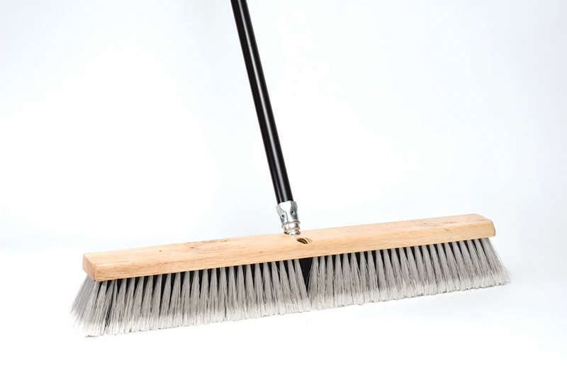 DQB  Synthetic  18 in. Garage Push Broom