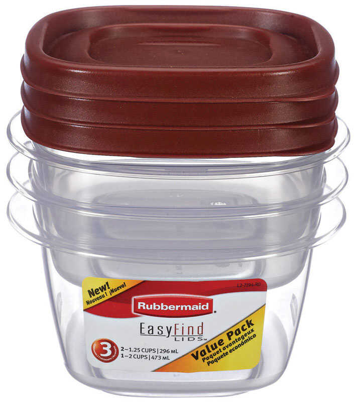 Rubbermaid  Assorted  Food Storage Container