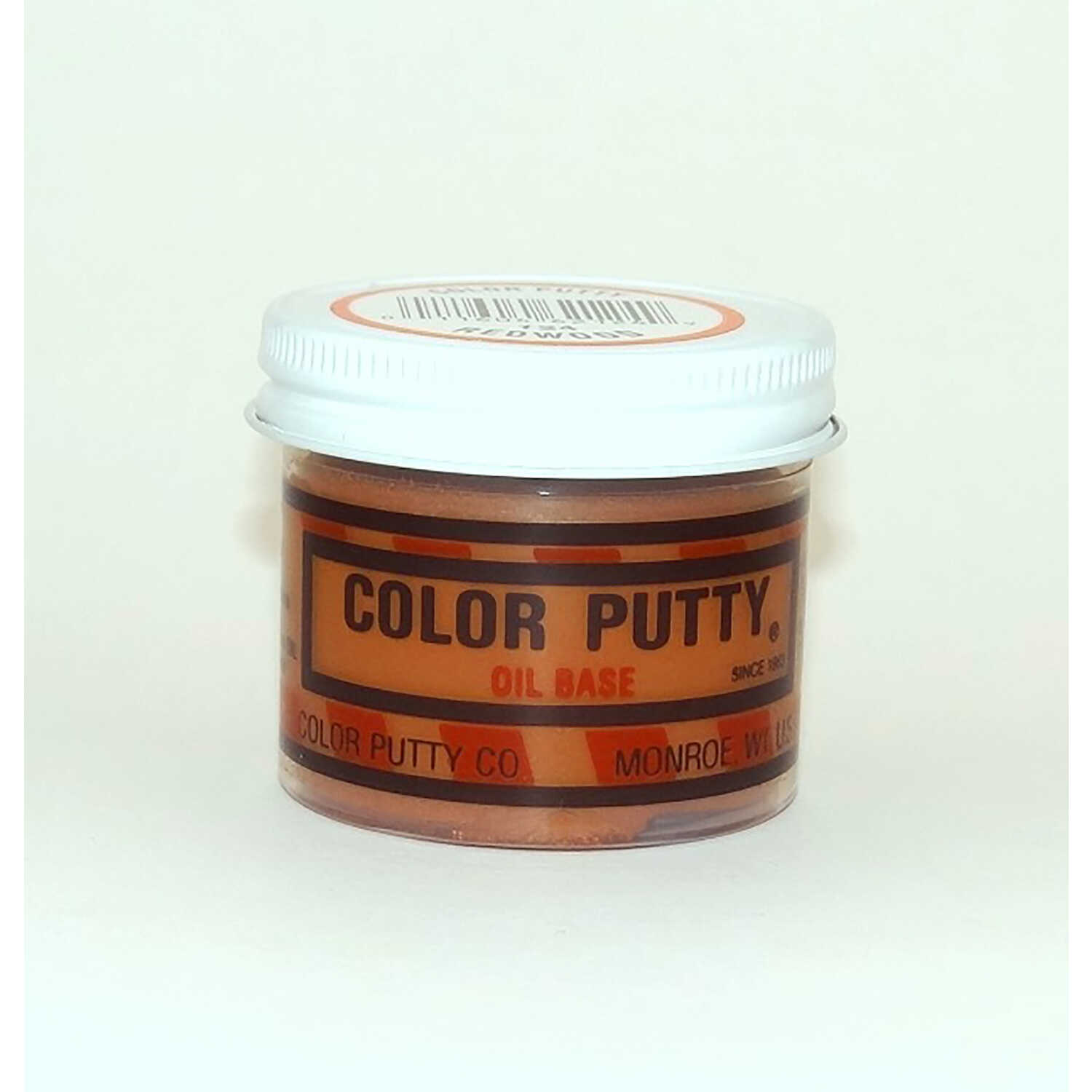 Color Putty  Redwood  Wood Filler  16 oz.