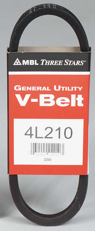 MBL  Standard  General Utility V-Belt  21 in. L