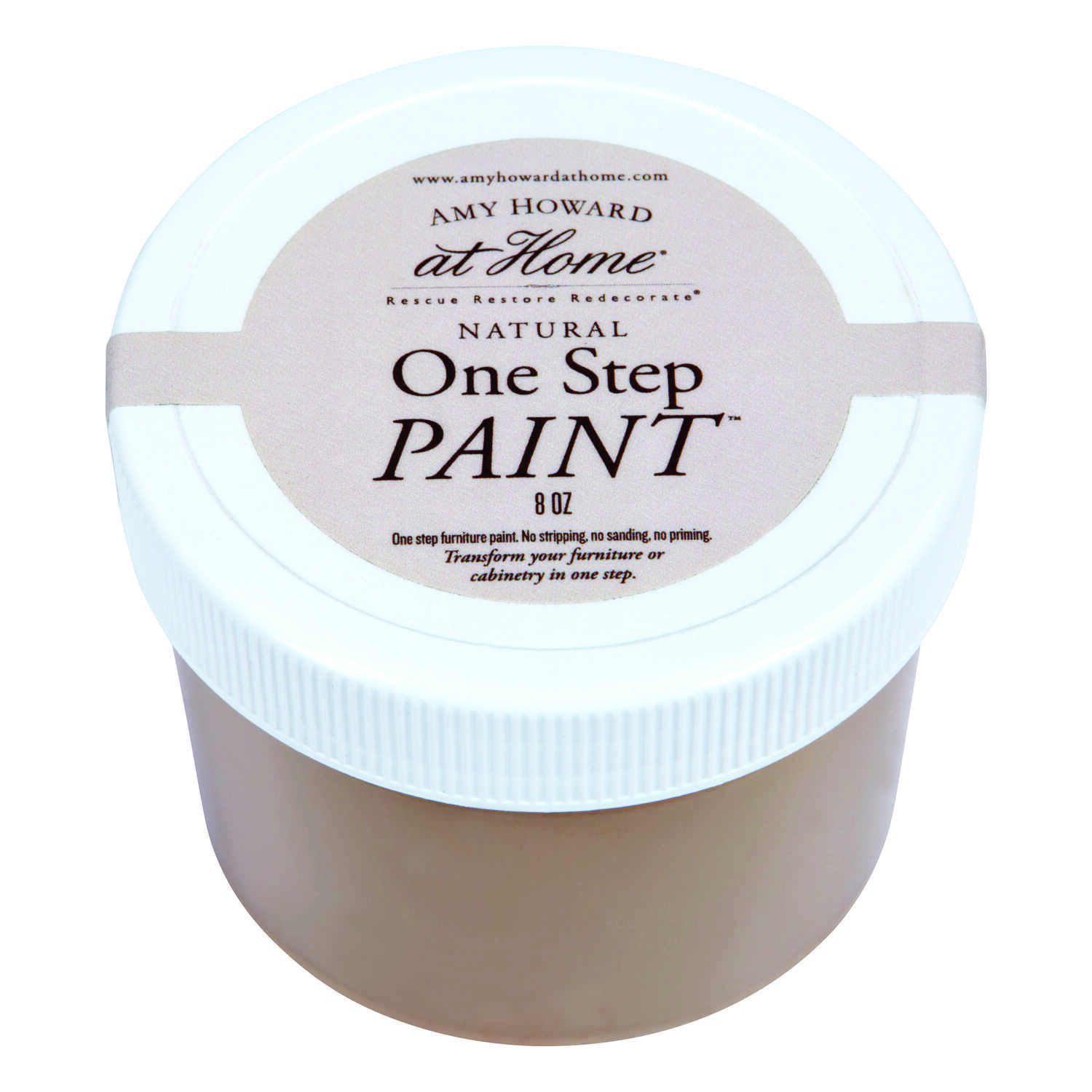 Amy Howard at Home  Flat Chalky Finish  Java  8 oz. One Step Paint