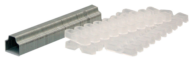Surebonder  1/2 in. W x 1/2 in. L Metal and Plastic  Wide Crown  Cable Staples  60 count