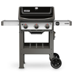 Weber  Spirit II E-310  3 burners Liquid Propane  Grill  Black