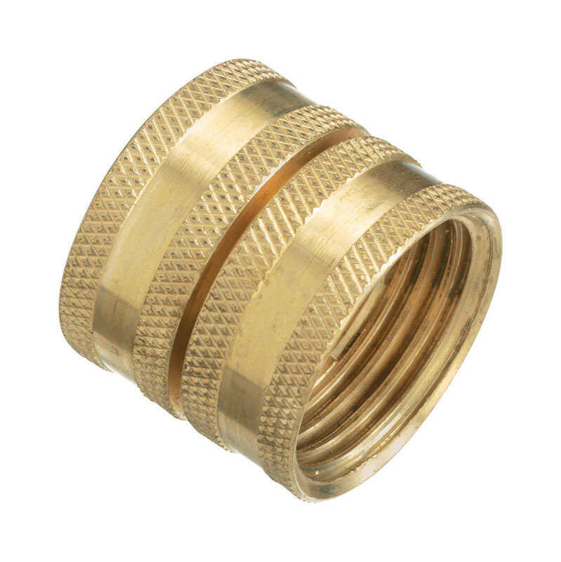 Plumb Pak  Brass  3/4 in. Dia. x 3/4 in. Dia. Swivel Hose Adapter  1 pk