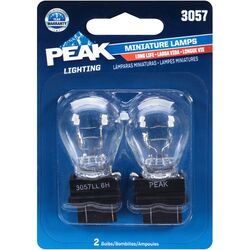 Peak  Incandescent  Parking/Stop/Tail/Turn  Miniature Automotive Bulb  3057