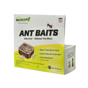RESCUE  Ant Bait Station  6 pk