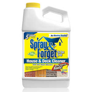 Spray & Forget  House and Deck Cleaner  64 oz. Liquid