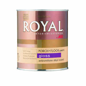 Ace  Royal  Gloss  White  Porch & Floor Paint  1 qt.