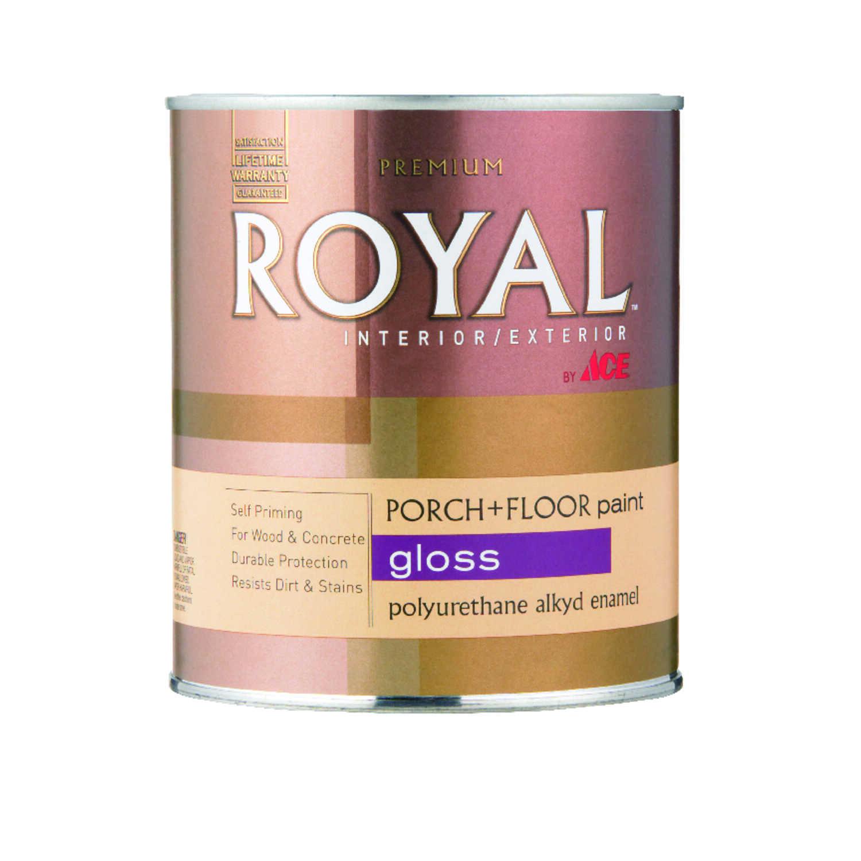 Ace Royal Gloss White Porch Amp Floor Paint 1 Qt Ace Hardware