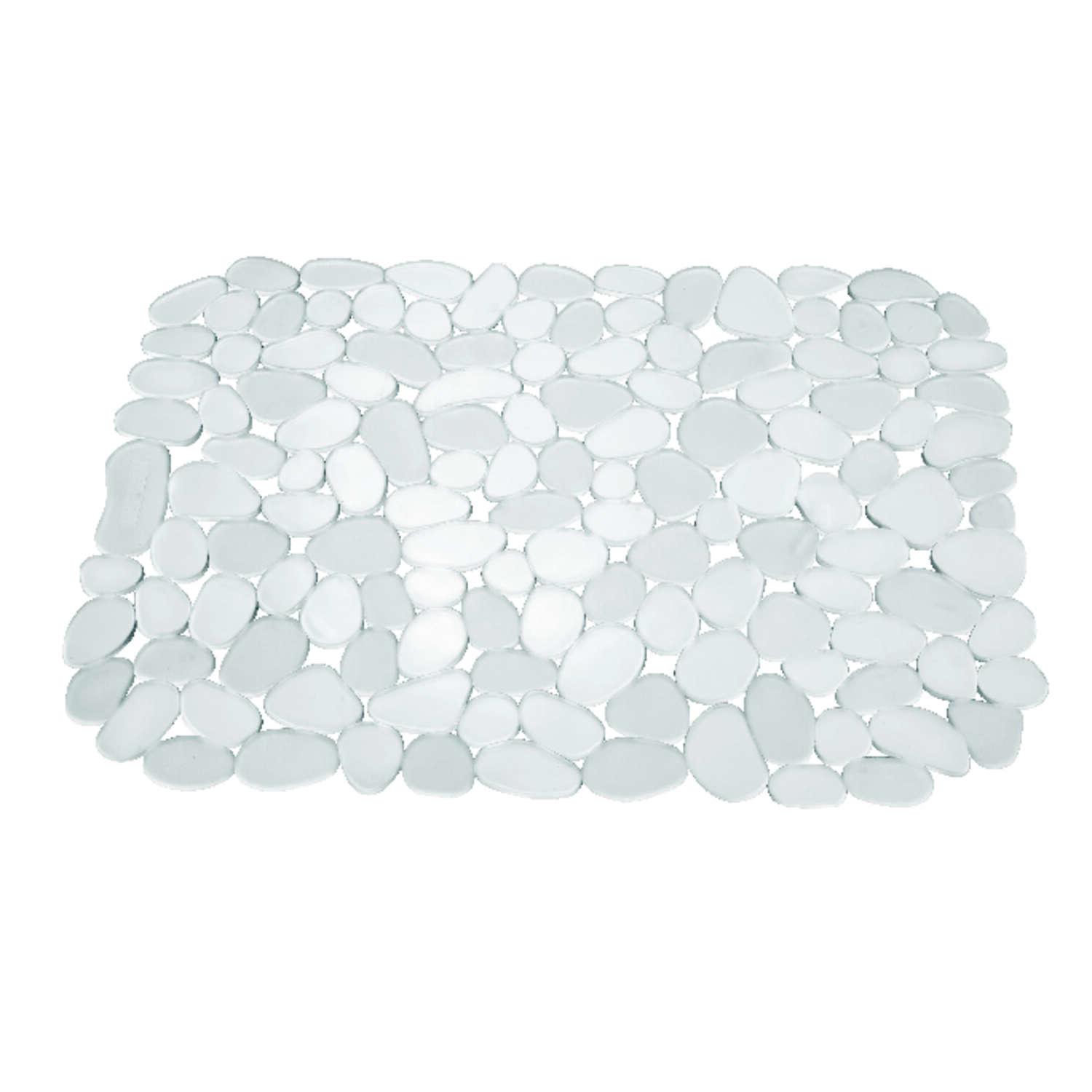 InterDesign  12 in. W x 15.5 in. L Clear  Plastic  Sink Mat