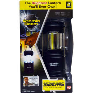 Atomic Beam  As Seen On TV  350 lumens Lantern  Black