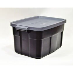 Rubbermaid Roughneck 16.7 in. H x 20.4 in. W x 32.3 in. D Stackable Storage Box