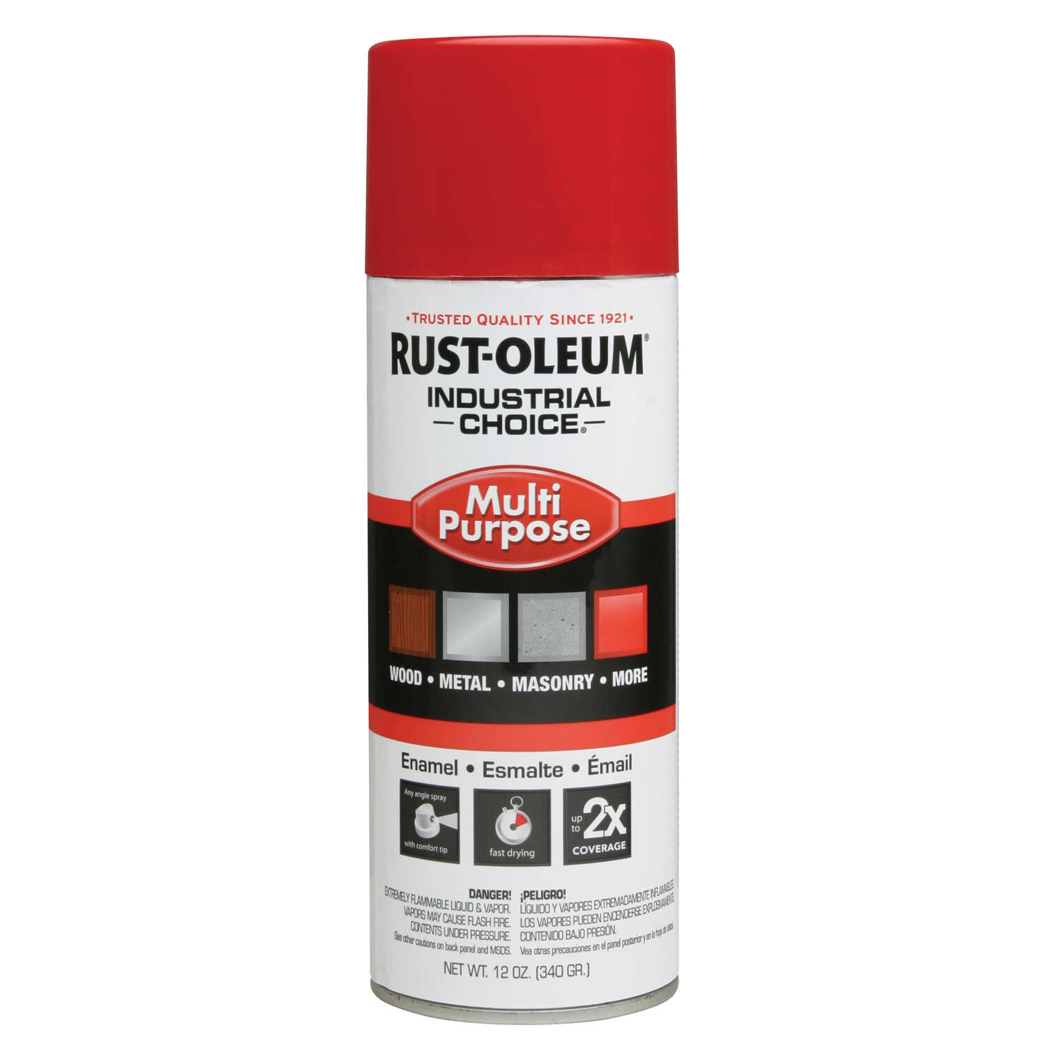 Rust-Oleum  Industrial Choice  OSHA Safety Red  Field Marking Paint  12 oz.