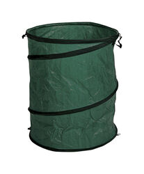 Gladiator  39 gal. Pop Up Yard Bag  Flat Top  1 pk