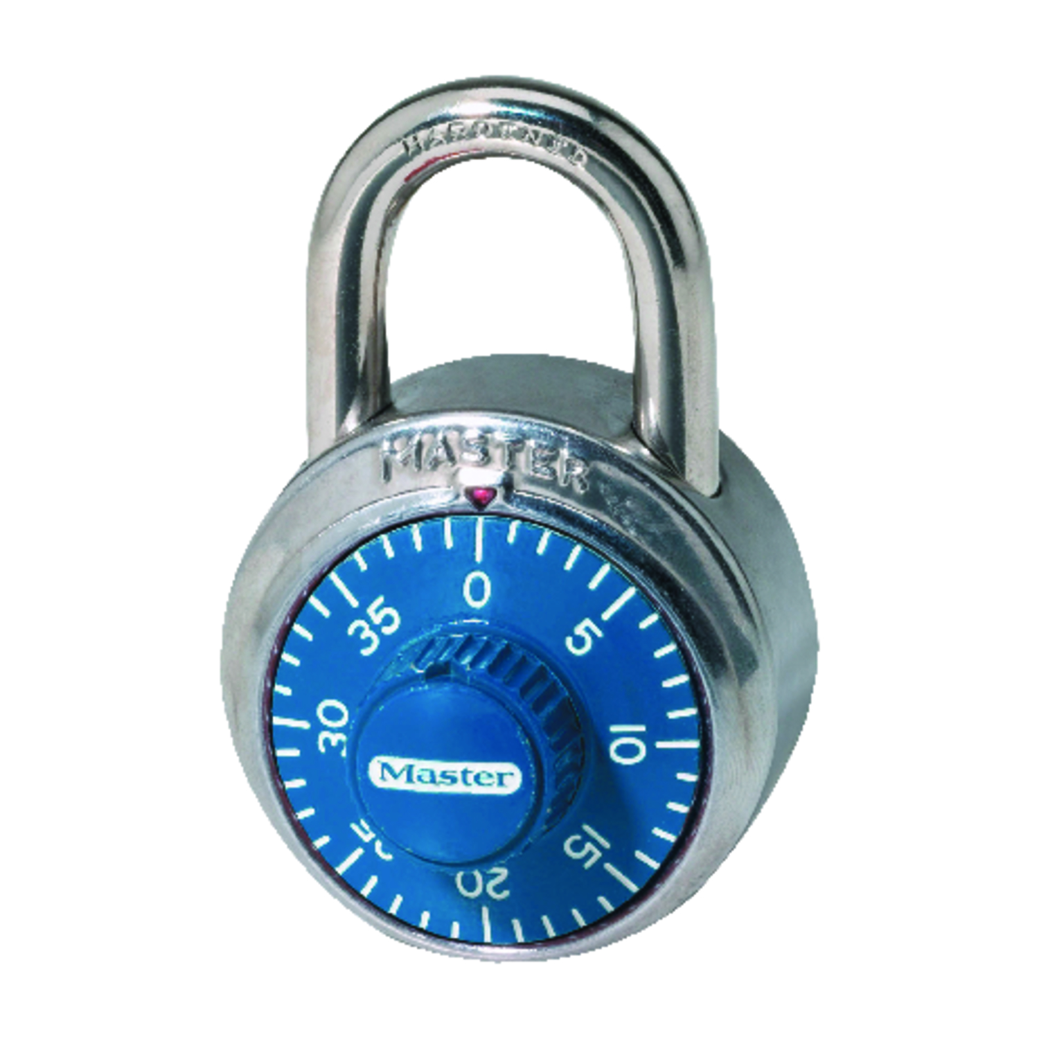 Master Lock  2 in. H x 7/8 in. W Anti-Shim Technology  Steel  Combination Padlock  1 each