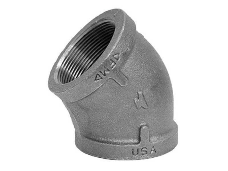 Anvil  1/2 in. FPT   x 1/2 in. Dia. FPT  Galvanized  Malleable Iron  Elbow