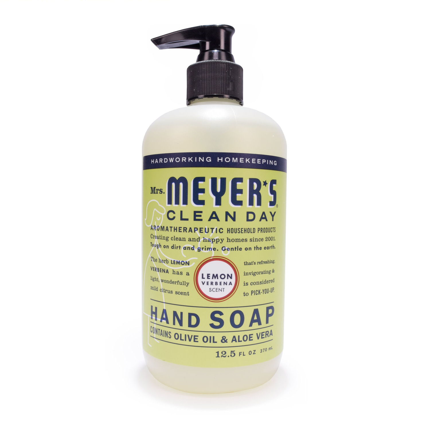 Mrs. Meyer's Clean Day 12.5 oz. Liquid Hand Soap Lemon Verbena Scent