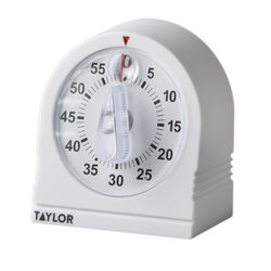 Taylor  Mechanical  Plastic  Kitchen Timer