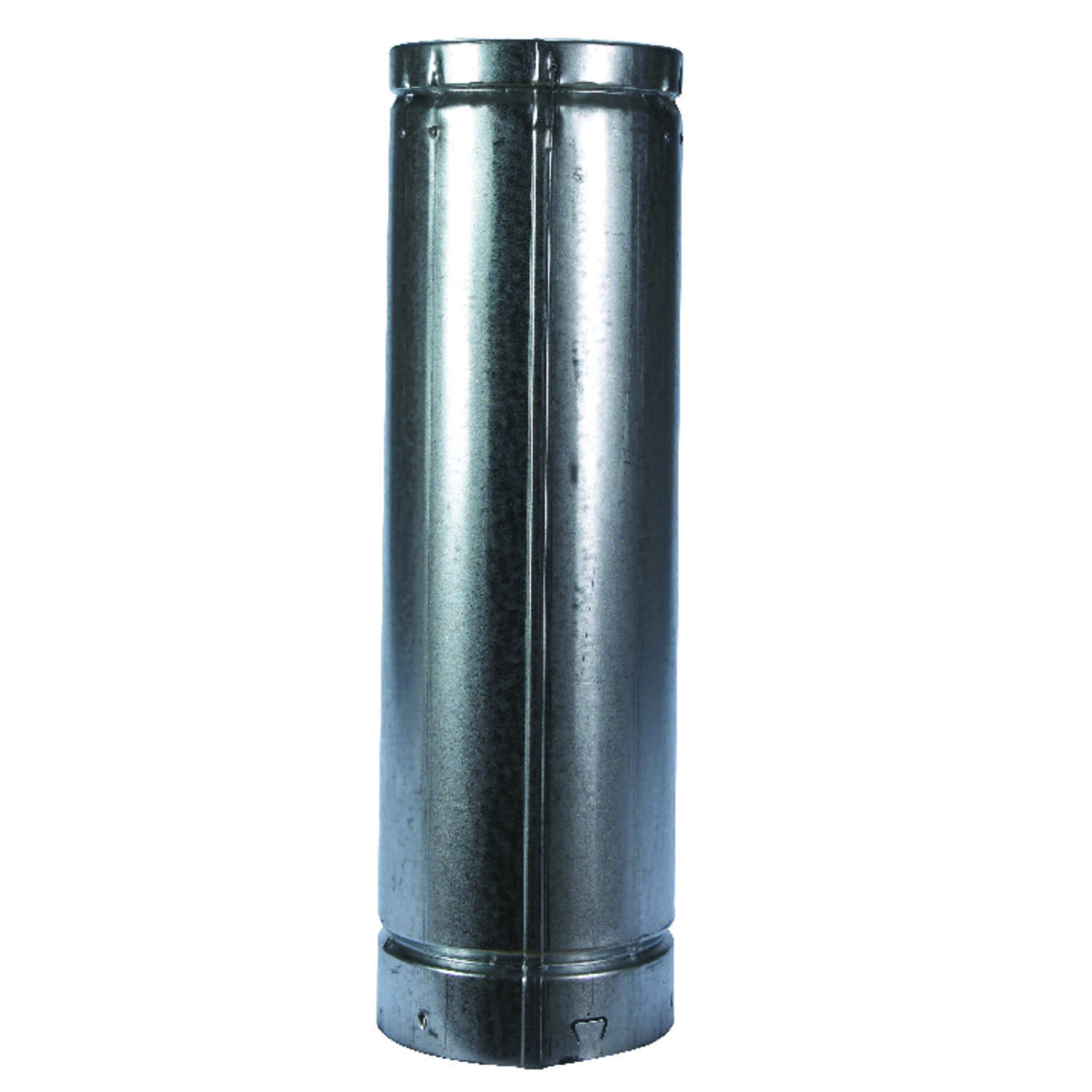 Selkirk  5 in. Dia. x 18 in. L Aluminum  Round Gas Vent Pipe