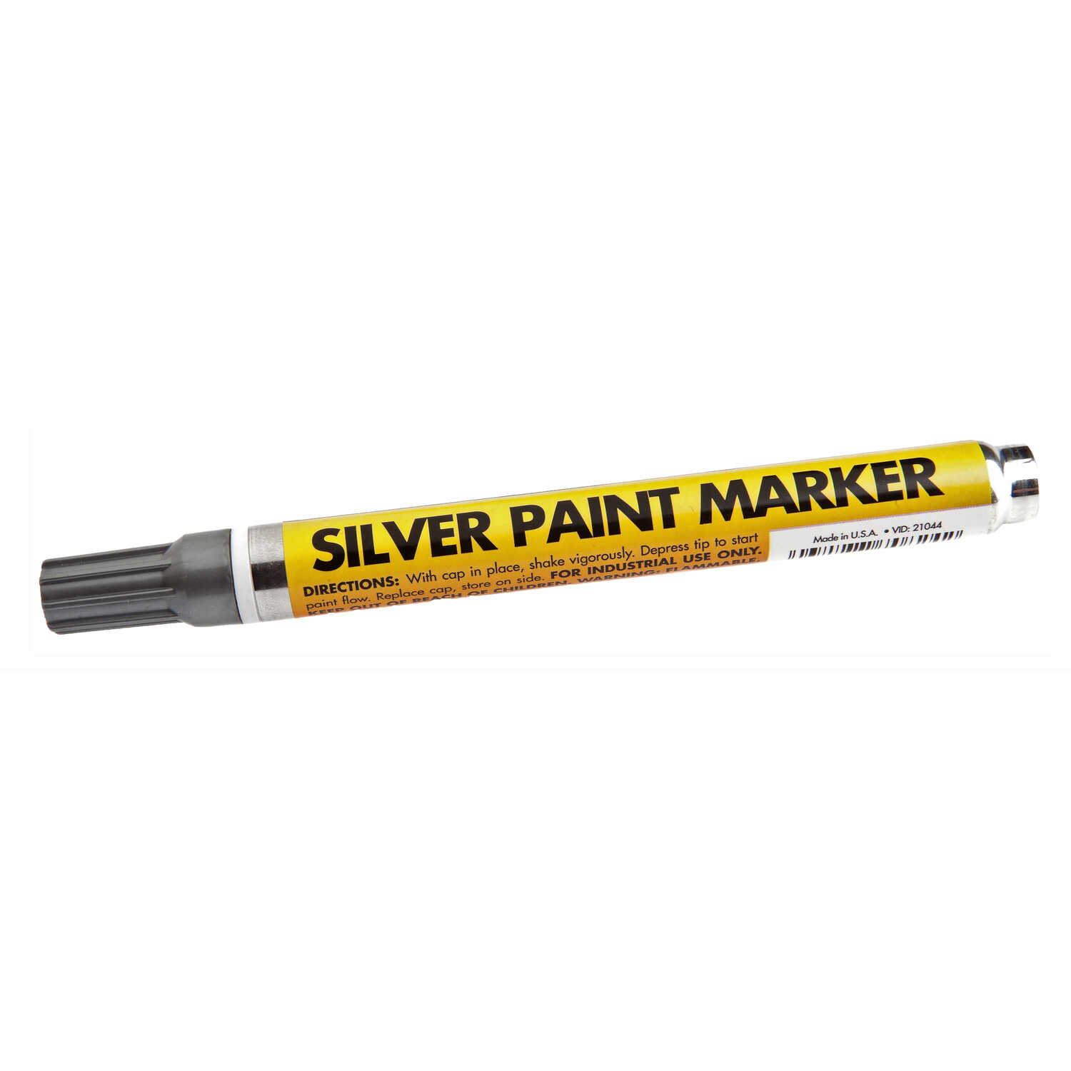 Forney  Silver  Valve Tip  Paint Marker  1 pk