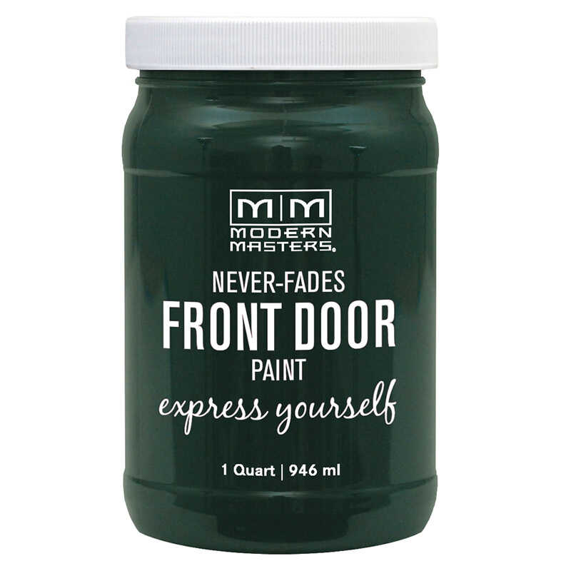 Modern Masters  Satin  1 qt. Front Door Paint  Successful