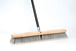 DQB  Poly / Synthetic  24 in. Garage Push Broom