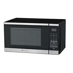 Perfect Aire  1.1 cu. ft. Black  Microwave  1000 watt