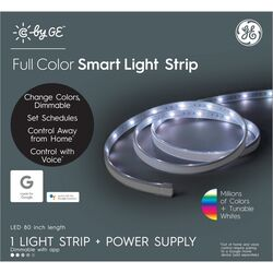 C by GE  80 in. L Color Changing  Plug-In  LED  Smart Light Strip  1 pk