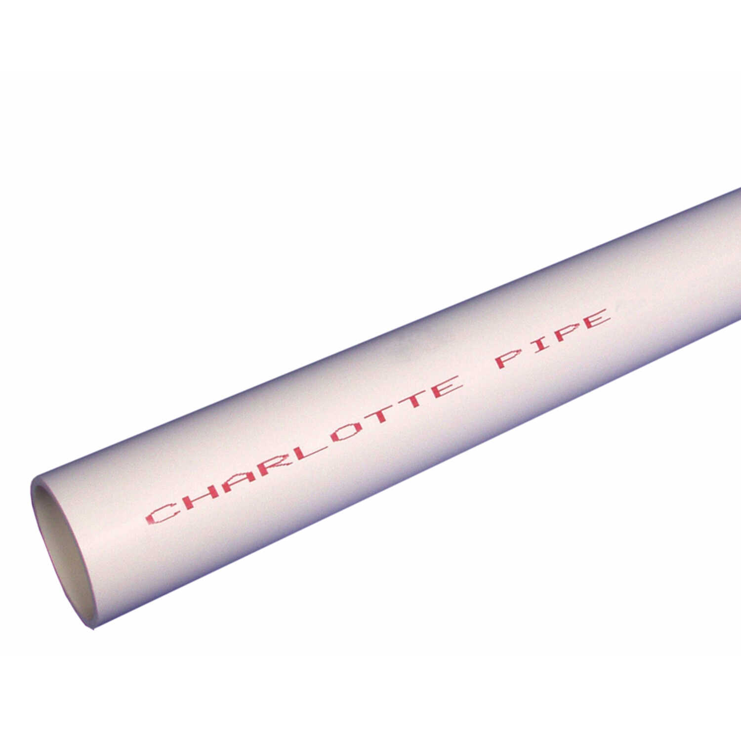 Cresline  PVC Pipe  1 in. Dia. x 10 ft. L Plain End  Schedule 40  450 psi