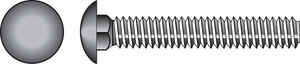 Hillman  5/16 in. Dia. x 6 in. L Zinc-Plated  Steel  Carriage Bolt  50 pk