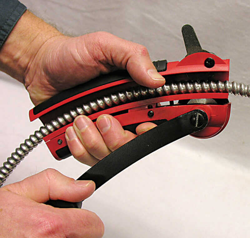 Gardner Bender  2.25 in. L Red  BX Armor Cable Cutter  3/8 in.