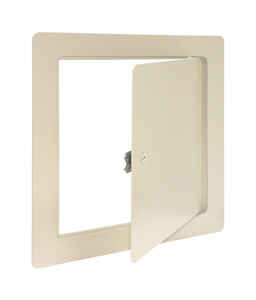 Eastman  8 in. W x 8 in. H Steel  White  Access Panel