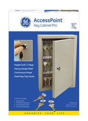 GE  Clay  Steel  Key Cabinet