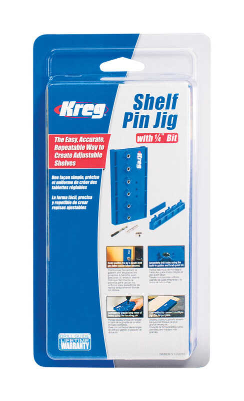 Kreg Tool  Steel  Shelf Pin Jig  1 pc.