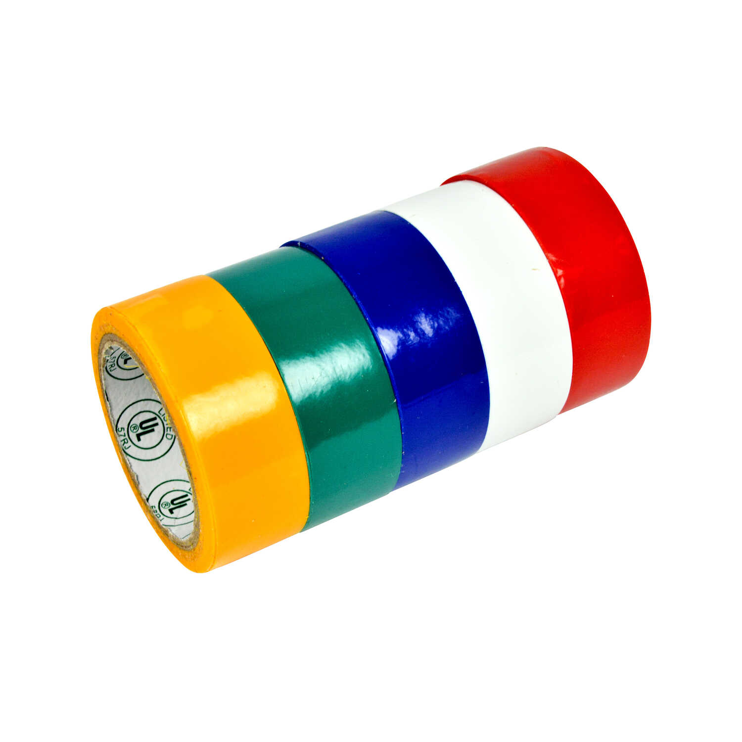Gardner Bender  3/4 in. W x 12 ft. L Assorted  PVC  Electrical Tape
