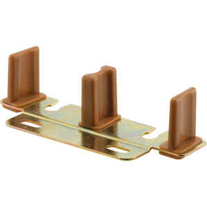 Prime-Line  Bronze  Steel  By-Pass Guide  1 pk
